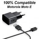 Moto E - Cargador de pared o red para Motorola Moto E