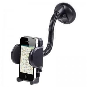 SOPORTE DE COCHE PARA TELEFONO MOVIL - SMARTPHONE CON VENTOSA